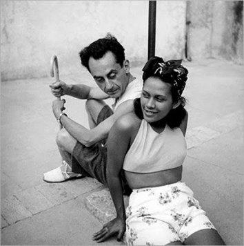 Man Ray e Ady Fidelin - Foto di Lee Miller