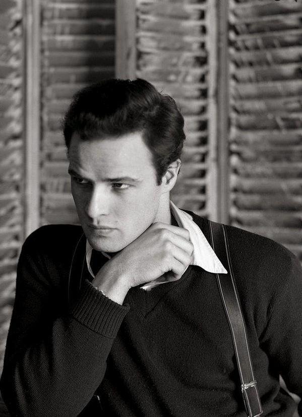 Marlon Brando, 1948. Fotografia di Serge Balkin