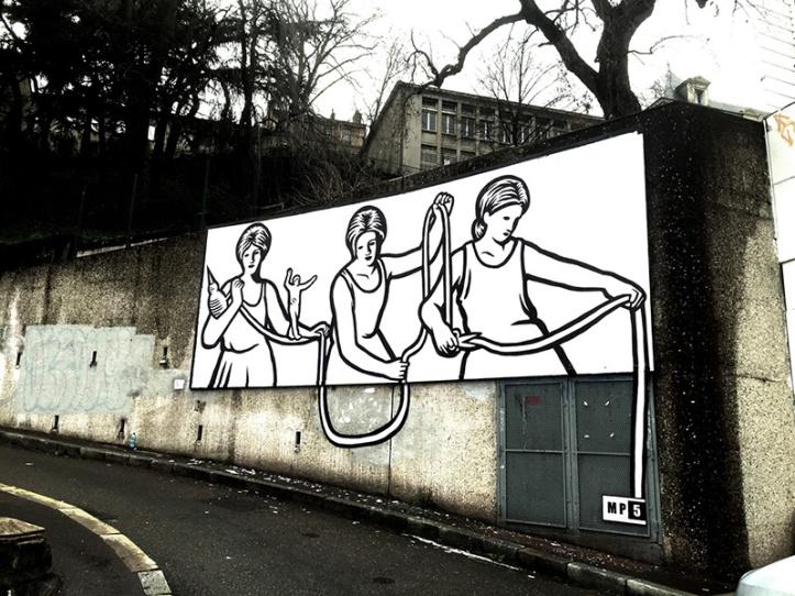 MP5 @ Saint Etienne per LE MUR Project