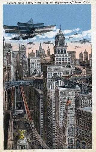 New York nel futuro c. 1910-1930