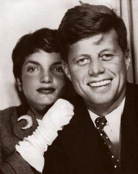 Il presidente John F. Kennedy e Jackie Kennedy