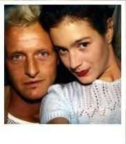 Rutger Hauer e Sean Young sul set di 'Blade Runner' (1982)