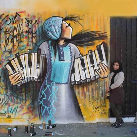 Shamsia Hassani @ Los Angeles