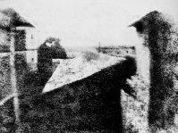 La prima fotografia. Immagine scattata da Joseph Nicéphore Niépce, 1826