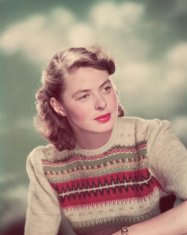 La bella Ingrid Bergman 3 volte premio Oscar, 1945
