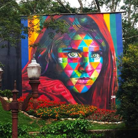 Afghan Girl by Eduardo Kobra
