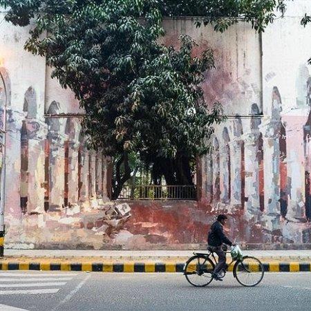 Borondo (Spagna) a Nuova Delhi