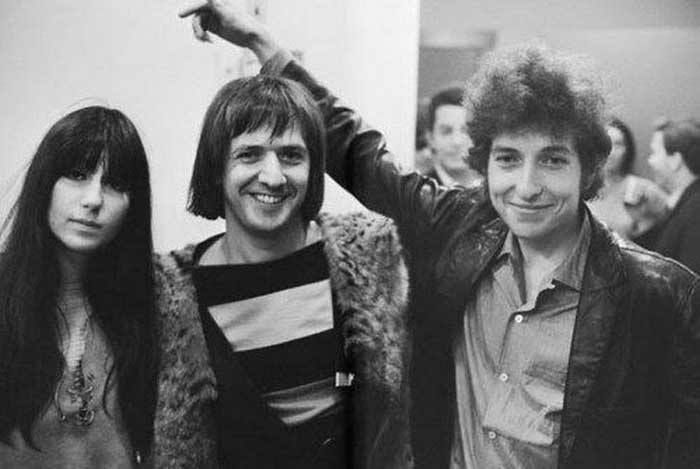 Cher, Sonny Bono e Bob Dylan