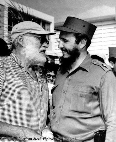 Ernest Hemingway e Fidel Castro, 1959