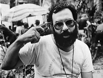 Francis Ford Coppola sul set di Apocalypse Now