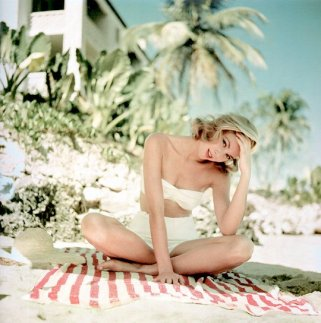 Grace Kelly in vacanza in Giamaica, 1955