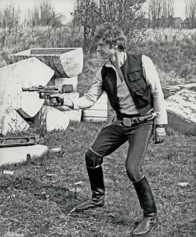 Harrison Ford nelle vesti di Han Solo