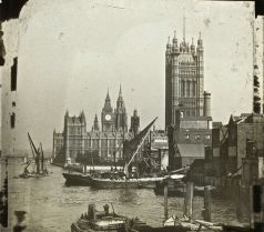 Houses of Parliament circa 1910-20 - Old London