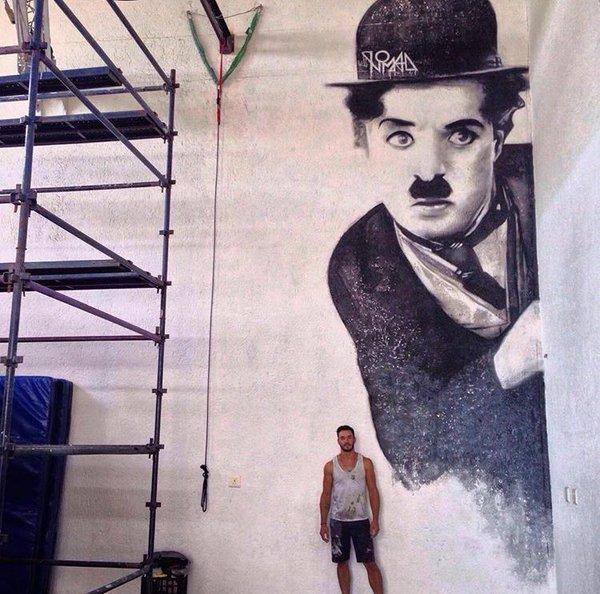 Streetart News [wall 268] – Justin Nomad (Sudafrica) a Kyalami