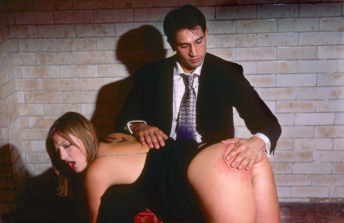 Spanking as Art by Alva Bernadine