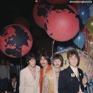 i Beatles presso gli studi EMI di Abbey Road, 1967