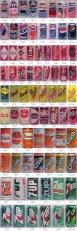 L'evoluzione delle lattine di soda più diffuse nel corso dei decenni