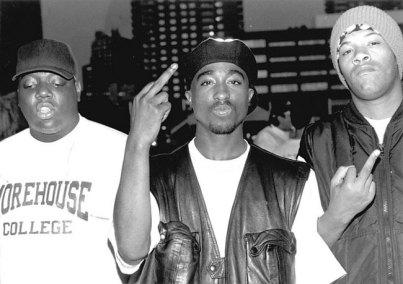 The Notorious B.I.G., Tupac Shakur e Redman