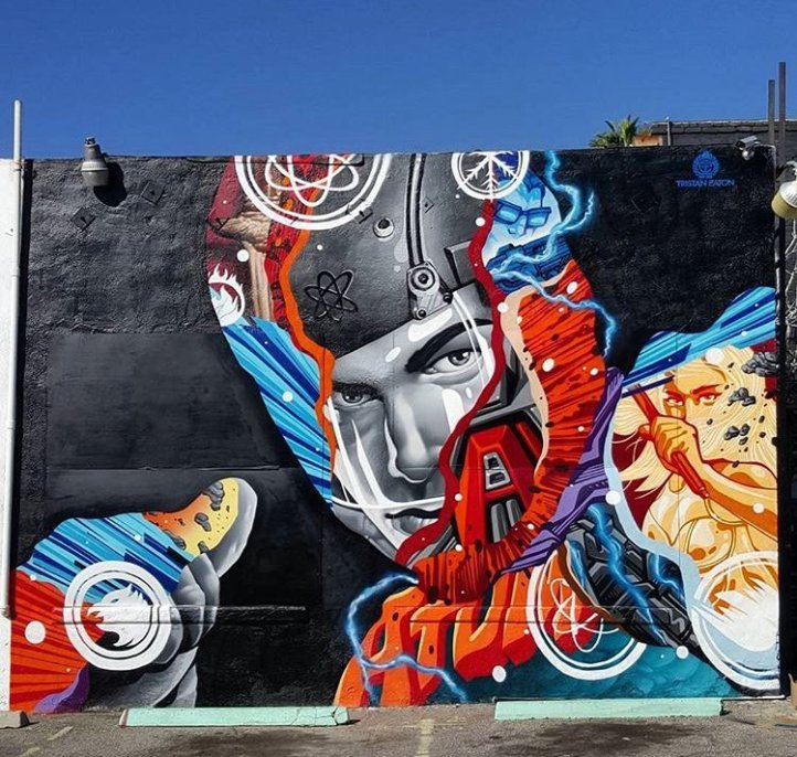 Tristan Eaton @Los Angeles