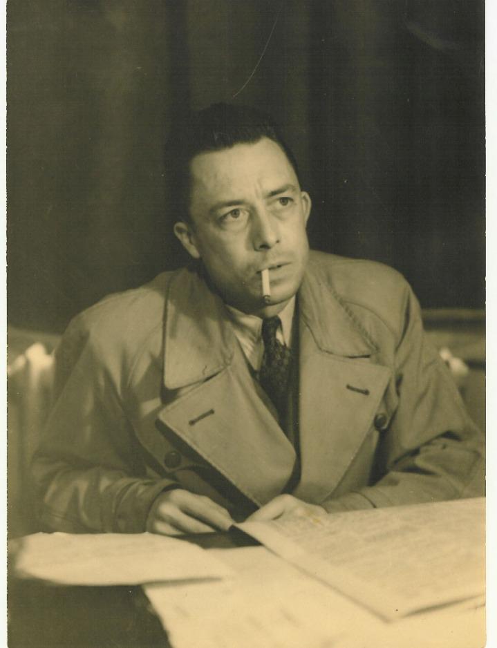 Albert Camus nel 1957