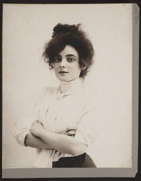 Marie Doro, attrice cinematografica del cinema muto, 1902