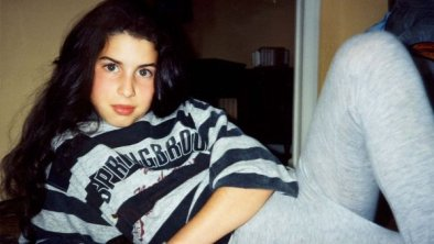 Amy Winehouse da ragazza
