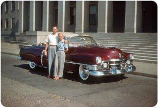 Cadillac a Washington, D.C., 1950