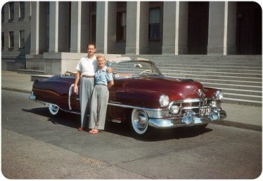 Cadillac a Washington, D.C., 1950