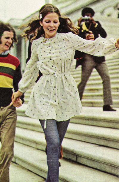 Moda per la rivista Seventeen, febbraio 1972