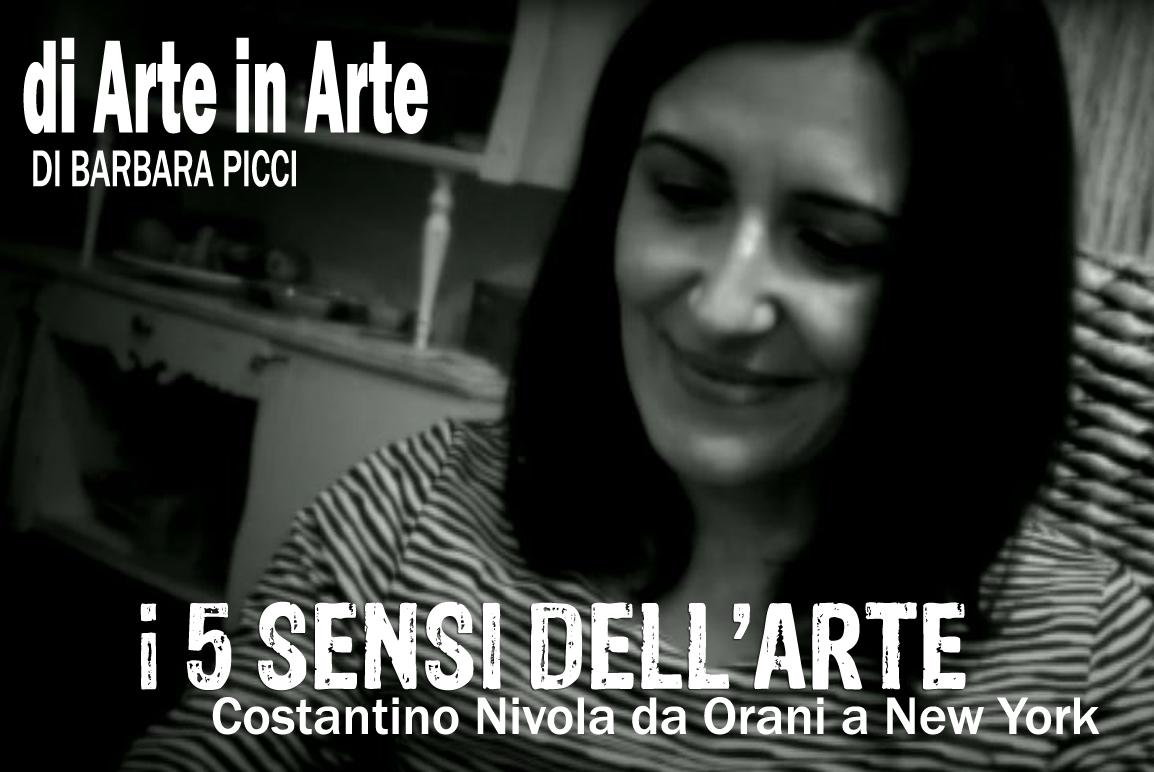 I 5 sensi dell'arte - Costantino Nivola da Orani a New York