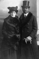 Coppia interrazziale, Teofilo Wonja Michael e sua moglie Martha Wegner, Berlino 1914