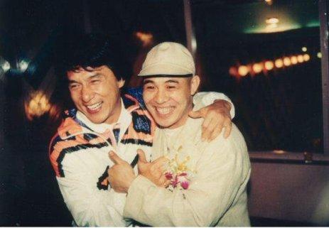 Jackie Chan e Jet Li