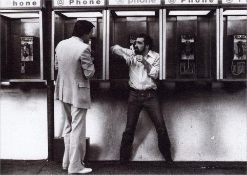 Martin Scorsese e Robert De Niro a New York sul set di Re per una notte