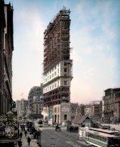 Times Square in fase di costruzione ,1903