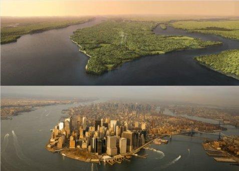 Prima di New York: quando Henry Hudson guardò Manhattan nel 1609, cosa vide?