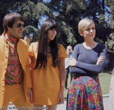 Sonny, Cher e Twiggy, 1967
