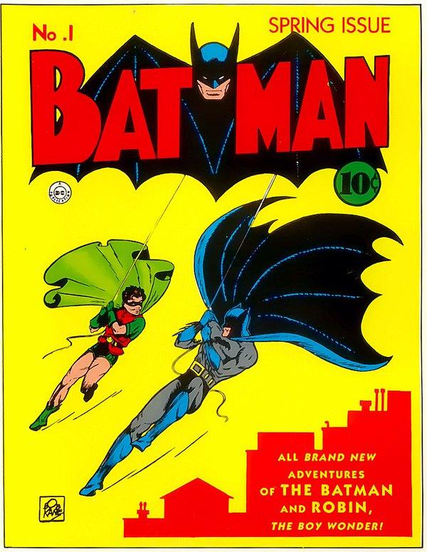 Il primo fumetto Batman 1940