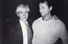 Bill Murray e Andy Warhol a NYC, 1981