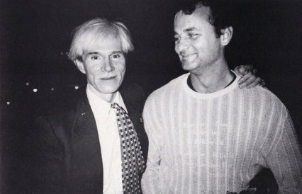 Bill Murray e Andy Warhol a NYC, 1981