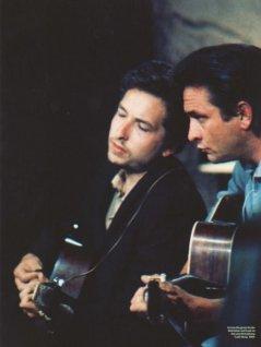 Bob Dylan e Johnny Cash