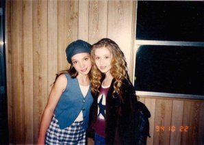 Britney Spears and Christina Aguilera, 1994