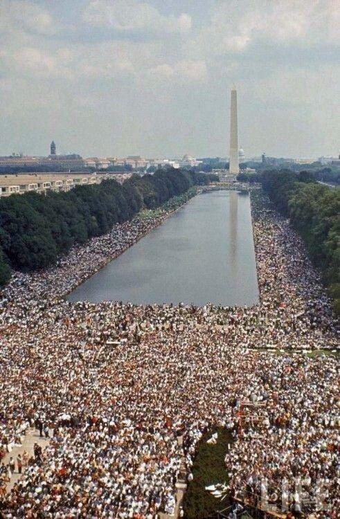 Marcia per i diritti civili, Washington, 1963