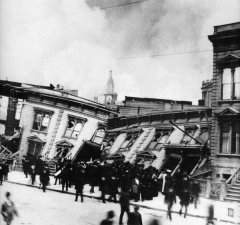 Collasso case durante il terremoto di San Francisco del 1906