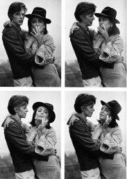 David Bowie e Elizabeth Taylor, 1975