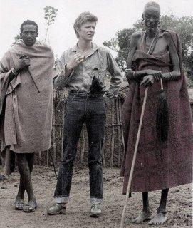 David Bowie in Kenya, 1975