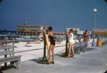 Daytona Beach, Florida, 1953