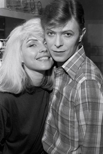 Debbie Harry e David Bowie, 1977