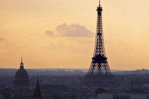 Torre Eiffel al tramonto, 1973
