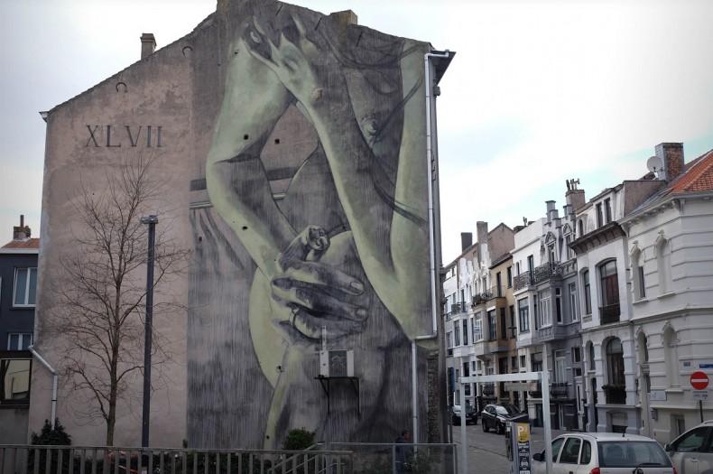 Faith47 @Oostende, Belgio