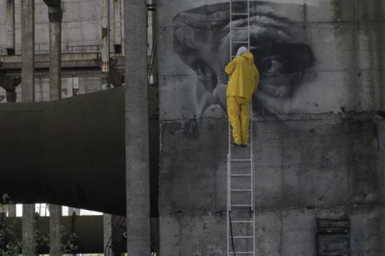 Guido Van Helten @Chernobyl
